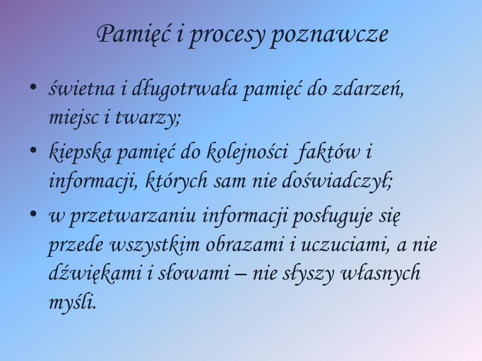 Pamięć i procesy poznawcze