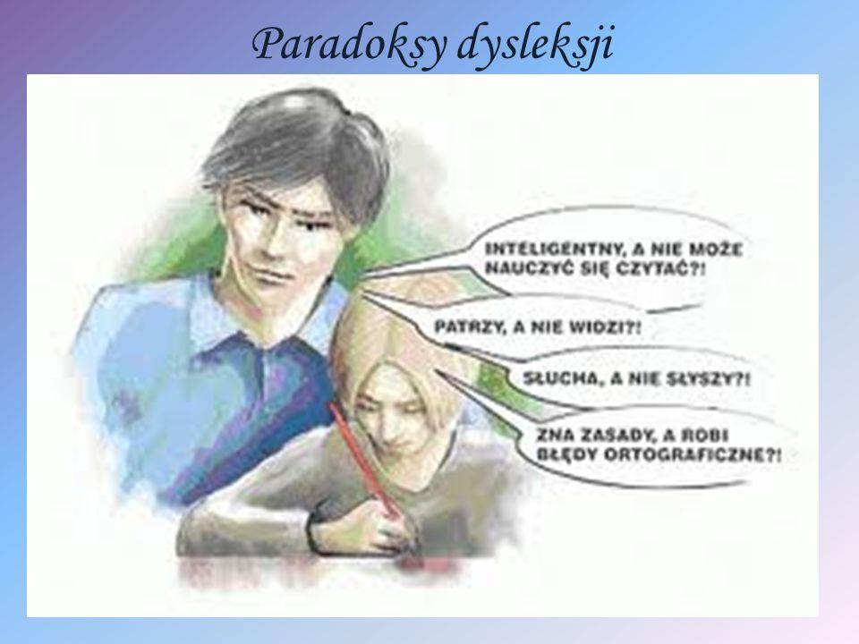 Paradoksy dysleksji
