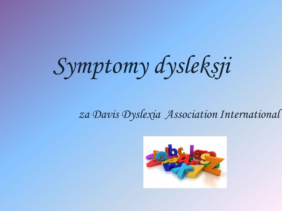 za Davis Dyslexia Association International
