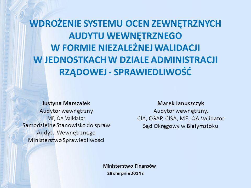 Ministerstwo Finansów 28 sierpnia 2014 r.