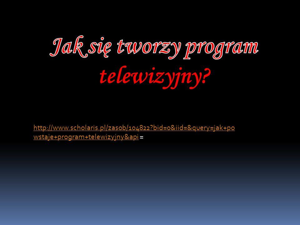 Jak się tworzy program telewizyjny