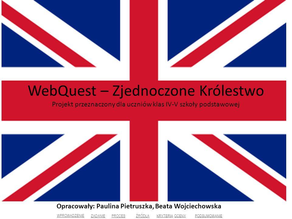 Opracowały: Paulina Pietruszka, Beata Wojciechowska