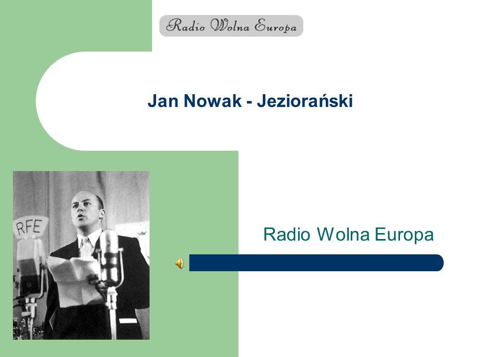 Jan Nowak - Jeziorański