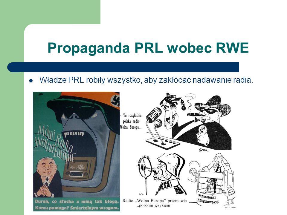 Propaganda PRL wobec RWE