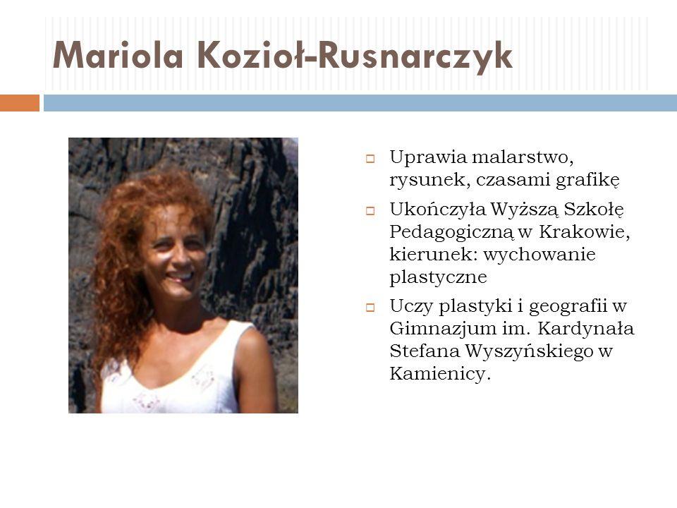 Mariola Kozioł-Rusnarczyk
