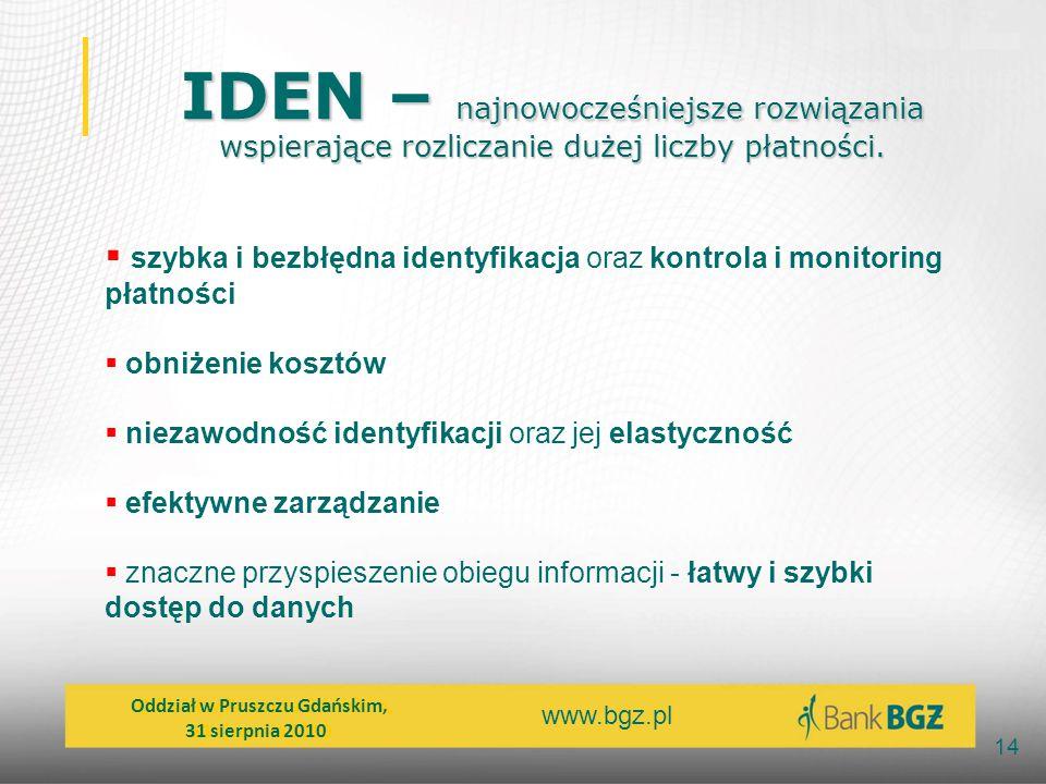 IDEN – najnowocześniejsze rozwiązania wspierające rozliczanie dużej liczby płatności.