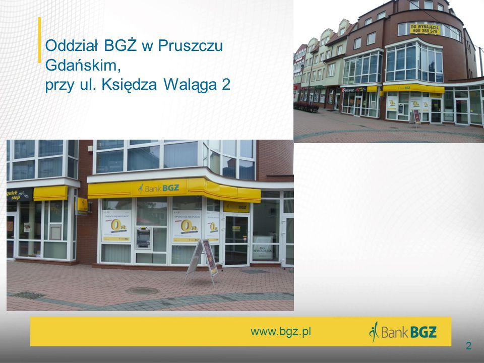 Oddział BGŻ w Pruszczu Gdańskim,