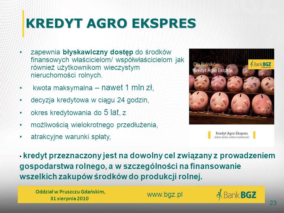 KREDYT AGRO EKSPRES