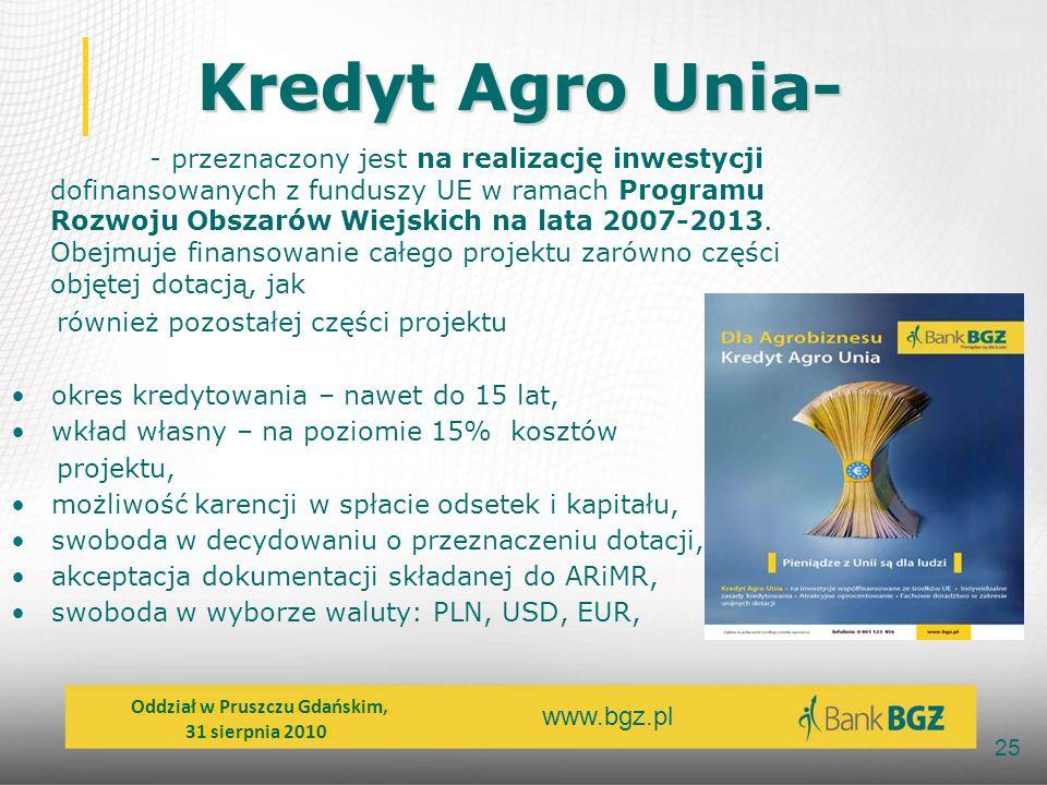 Kredyt Agro Unia-