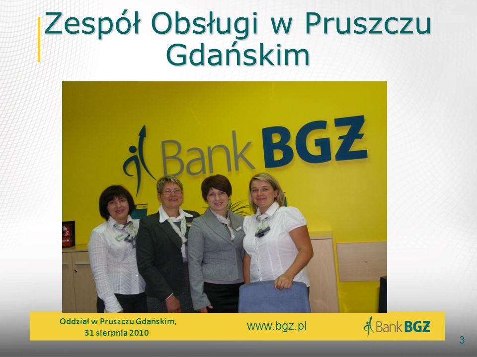Zespół Obsługi w Pruszczu Gdańskim