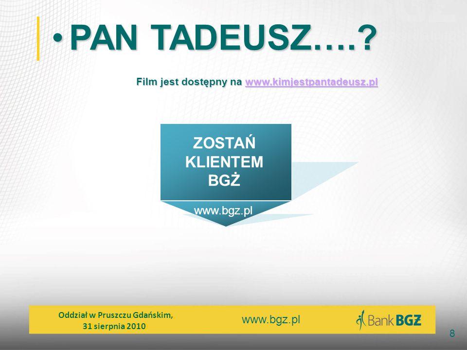 Film jest dostępny na www.kimjestpantadeusz.pl