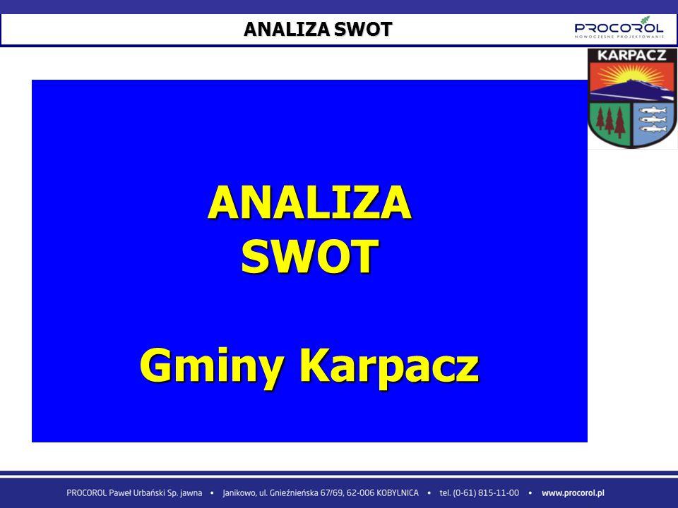 ANALIZA SWOT Gminy Karpacz