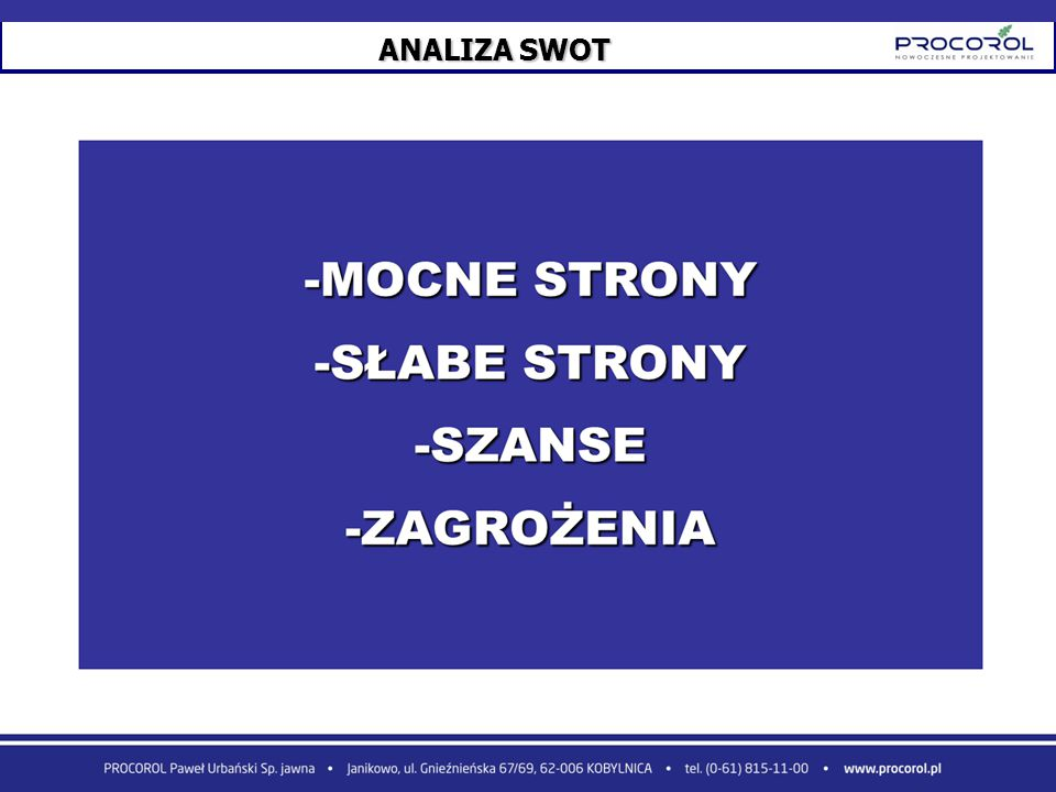 ANALIZA SWOT 23