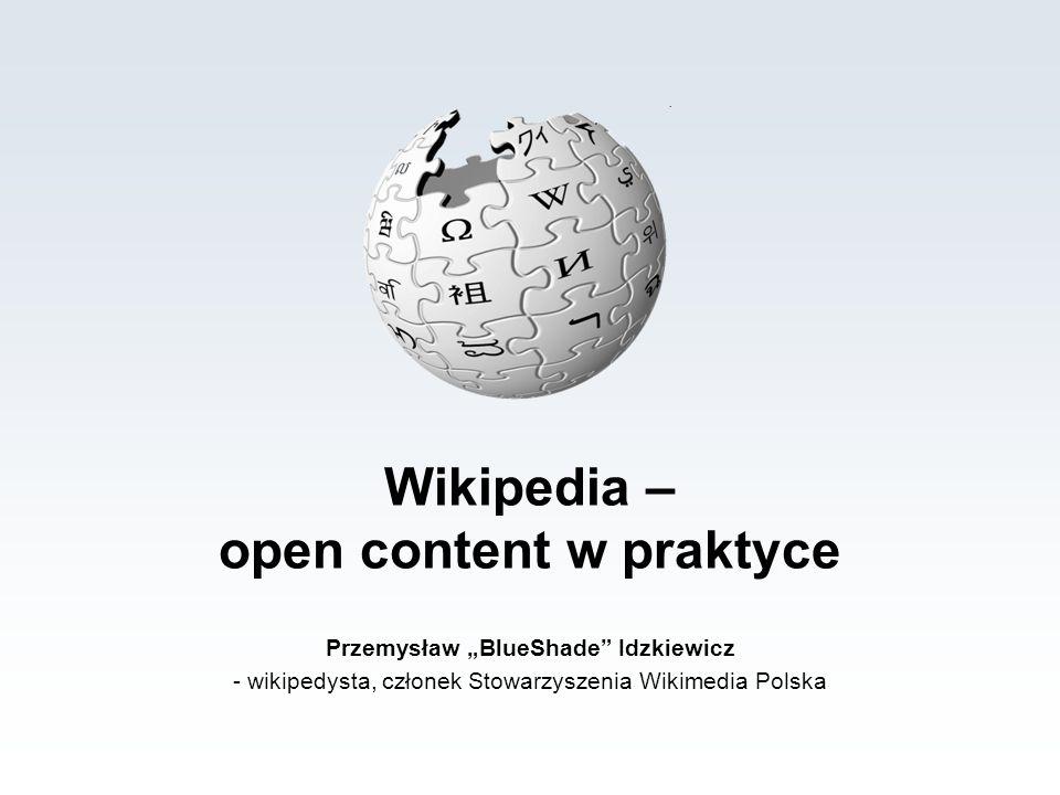 Wikipedia – open content w praktyce