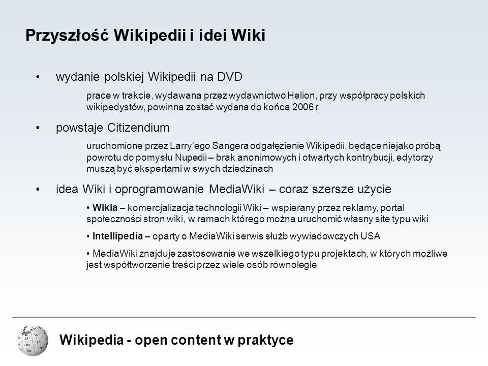 Przyszłość Wikipedii i idei Wiki