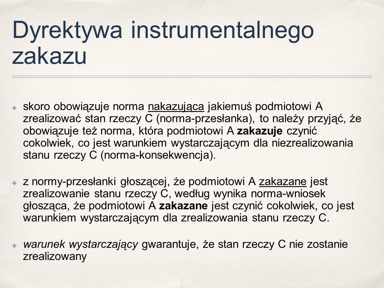 Dyrektywa instrumentalnego zakazu