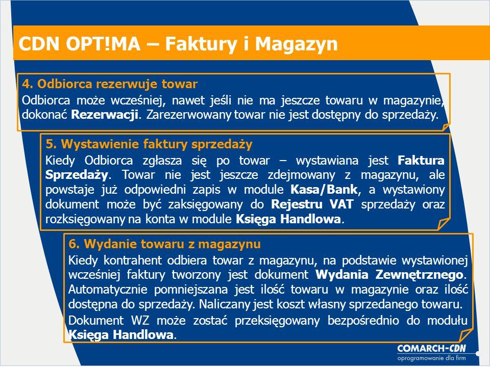 CDN OPT!MA – Faktury i Magazyn