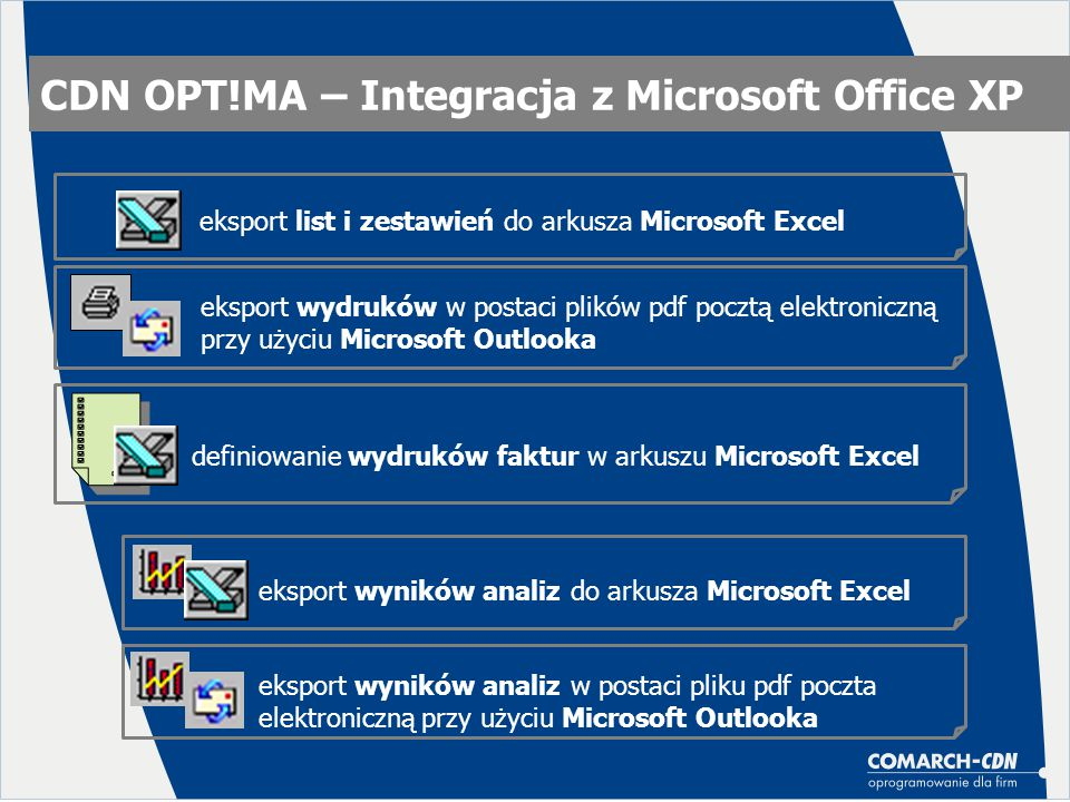 CDN OPT!MA – Integracja z Microsoft Office XP