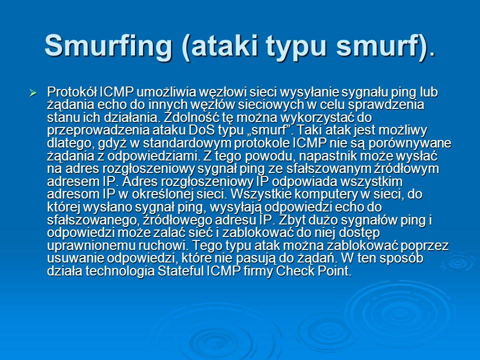 Smurfing (ataki typu smurf).