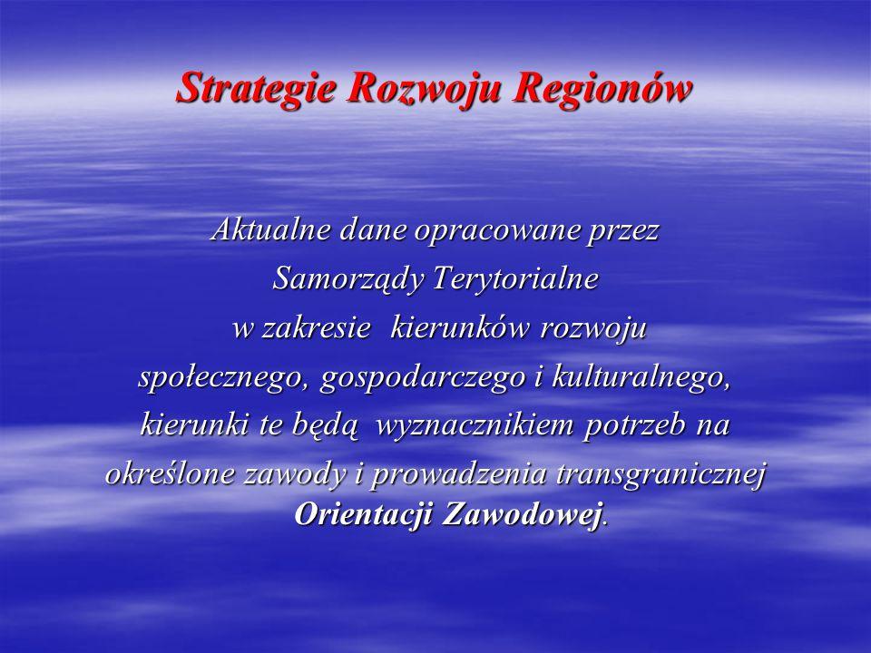 Strategie Rozwoju Regionów