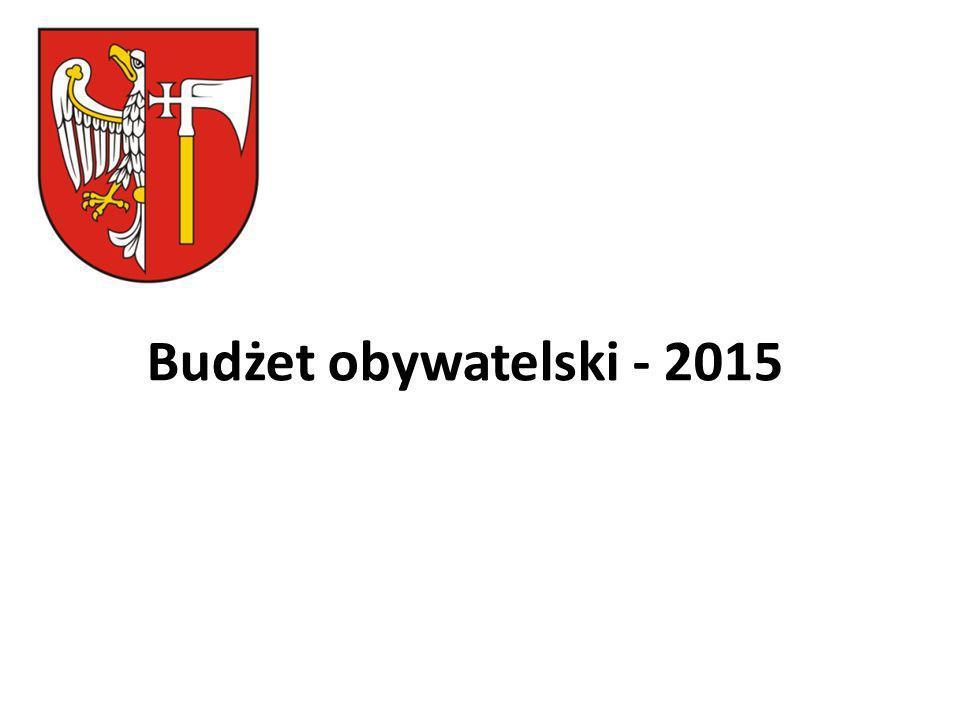 Budżet obywatelski - 2015