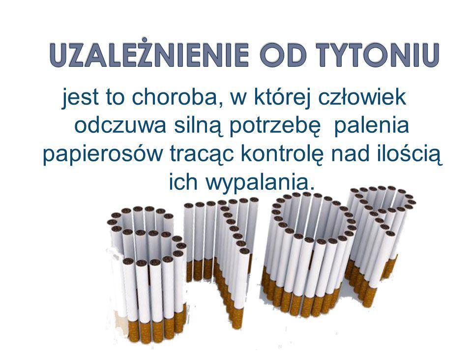 Uzależnienie od tytoniu