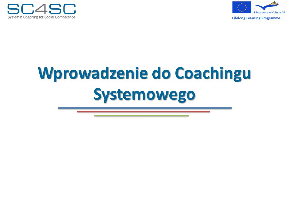 Wprowadzenie do Coachingu Systemowego