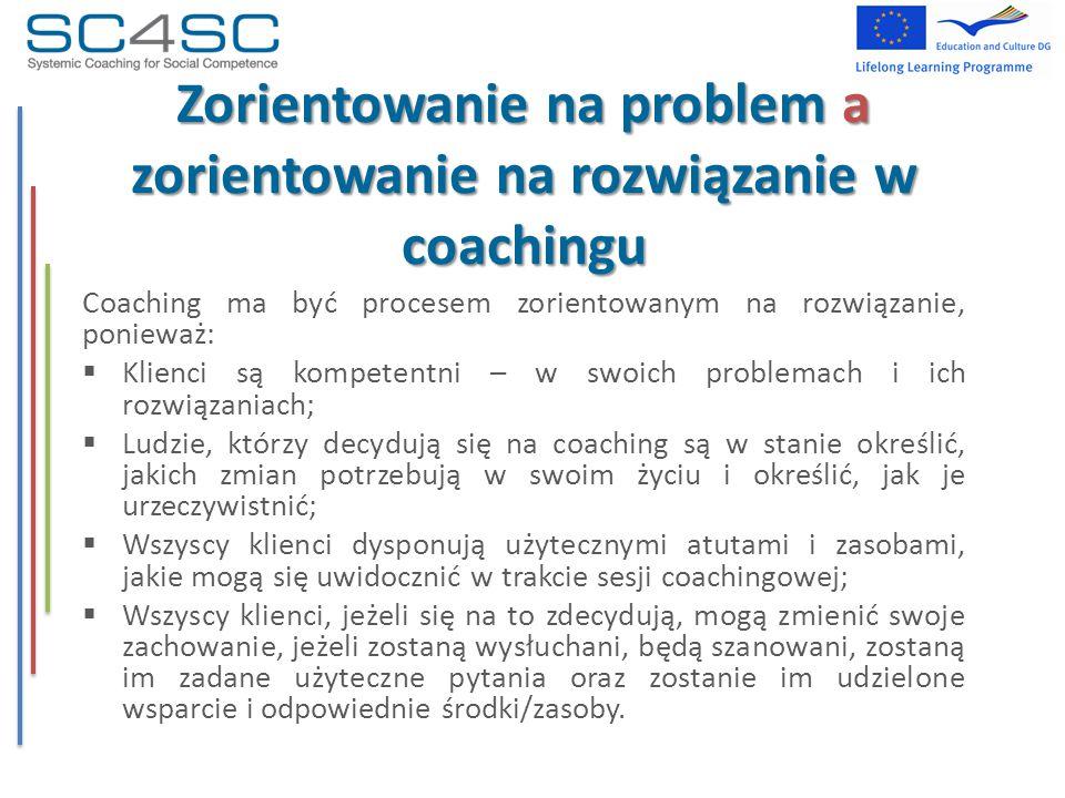 Zorientowanie na problem a zorientowanie na rozwiązanie w coachingu