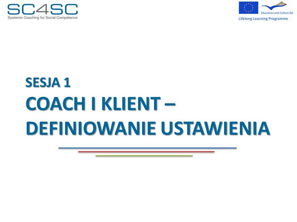 SESJA 1 coach I Klient – DEFINIOWANIE USTAWIENIA
