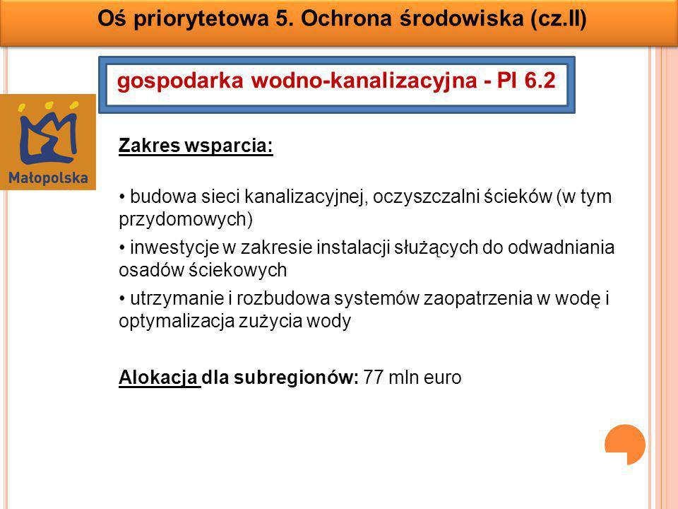 gospodarka wodno-kanalizacyjna - PI 6.2