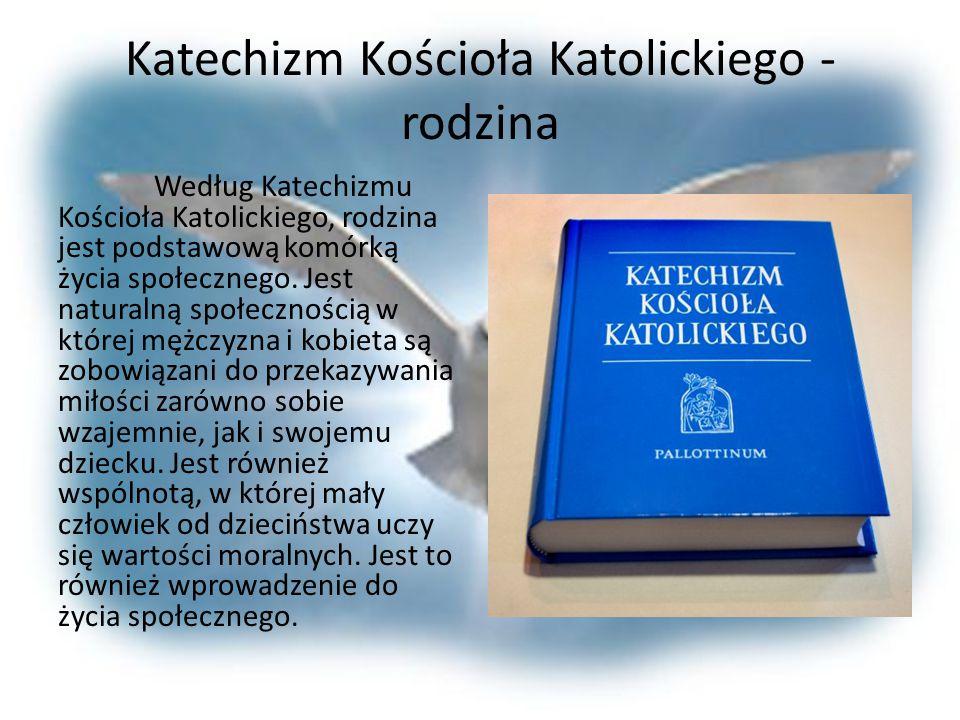 Katechizm Kościoła Katolickiego - rodzina