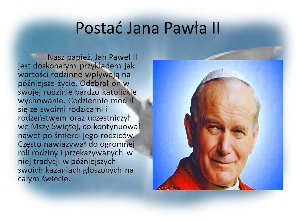 Postać Jana Pawła II