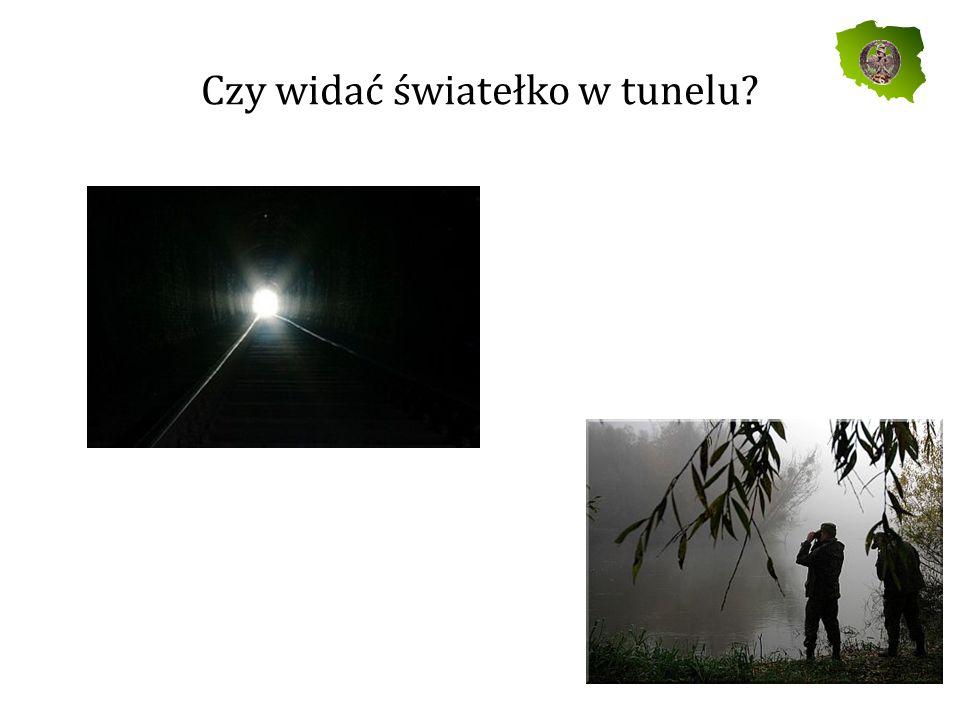 Czy widać światełko w tunelu
