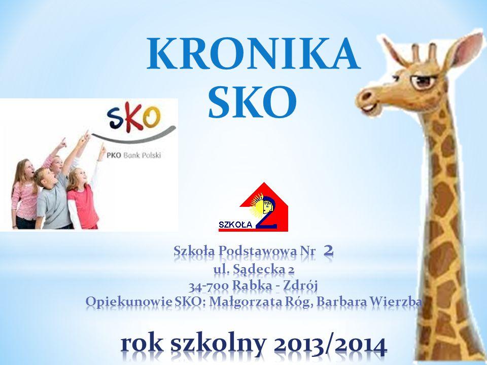 Opiekunowie SKO: Małgorzata Róg, Barbara Wierzba rok szkolny 2013/2014