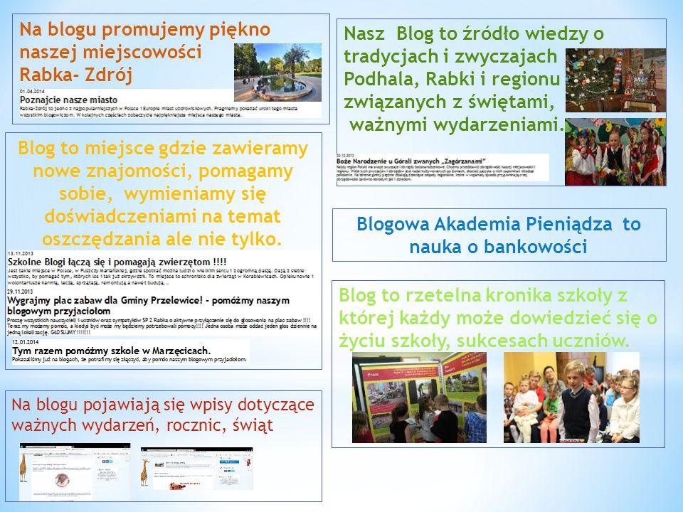 Blogowa Akademia Pieniądza to nauka o bankowości