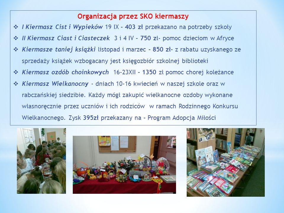 Organizacja przez SKO kiermaszy