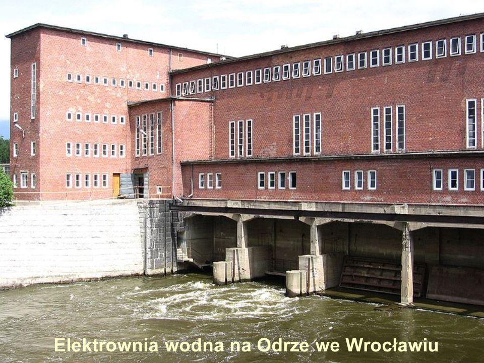 Elektrownia wodna na Odrze we Wrocławiu
