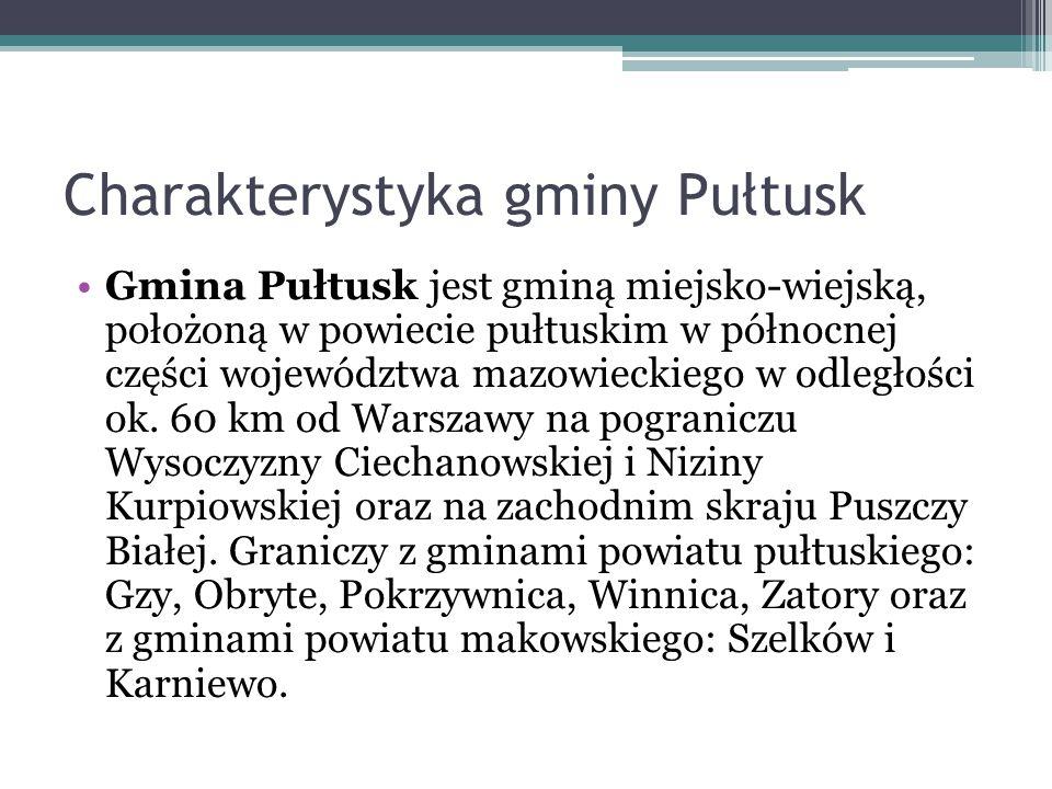 Charakterystyka gminy Pułtusk