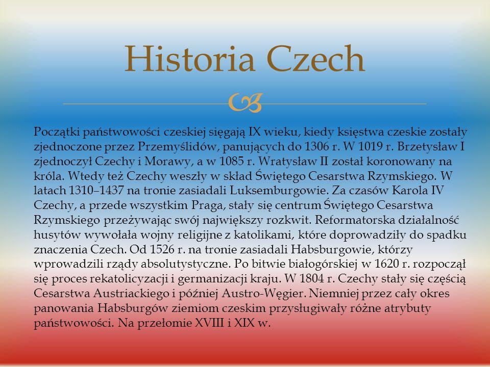 Historia Czech