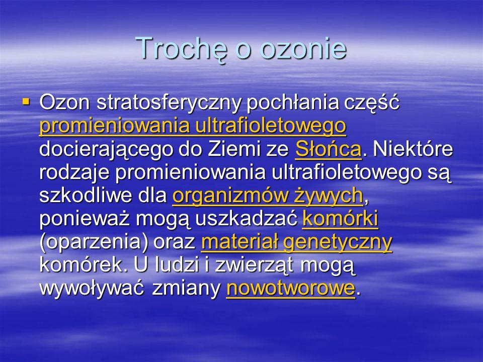 Trochę o ozonie