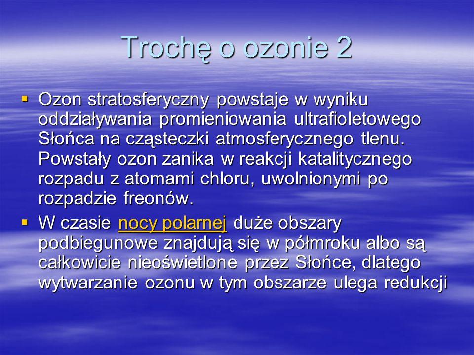 Trochę o ozonie 2