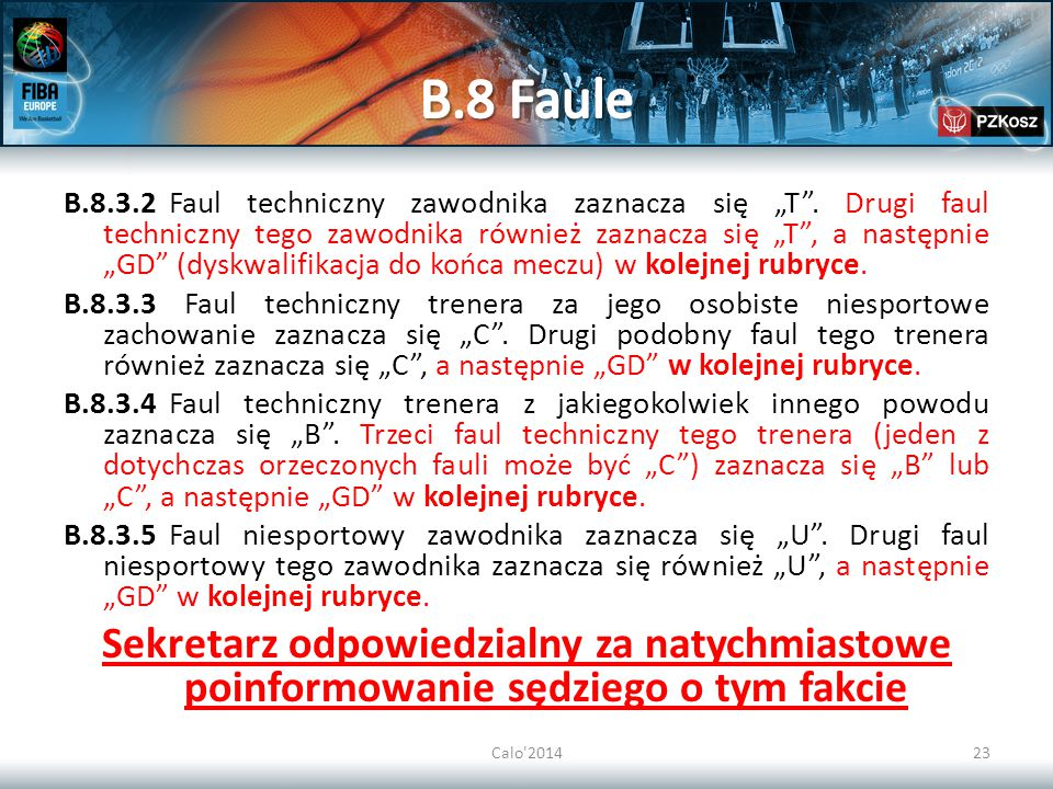 B.8 Faule