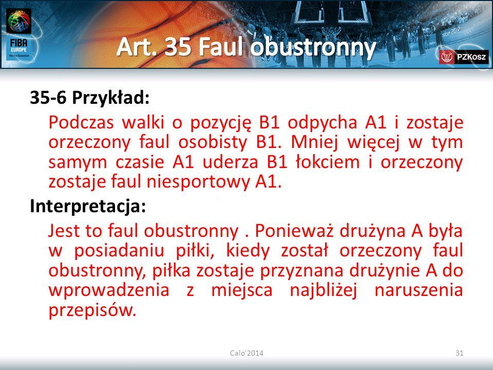 Art. 35 Faul obustronny