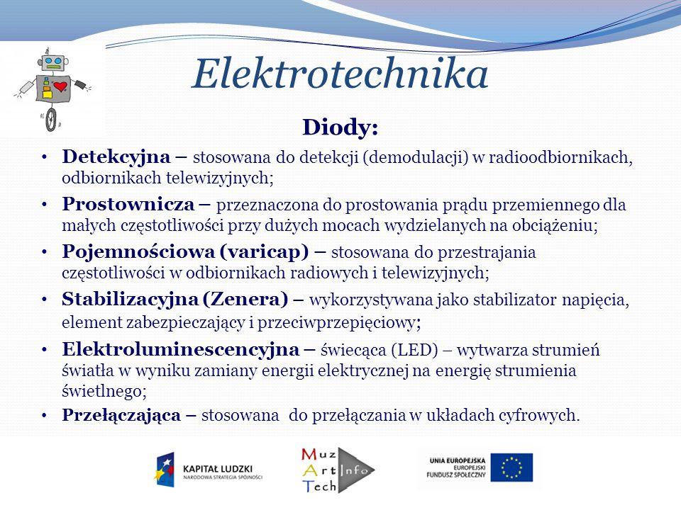 Elektrotechnika Diody: