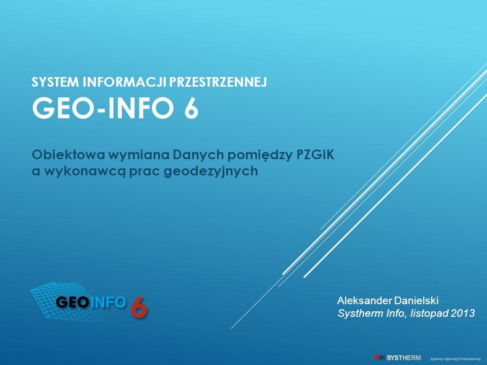 GEO-INFO 6 System Informacji Przestrzennej