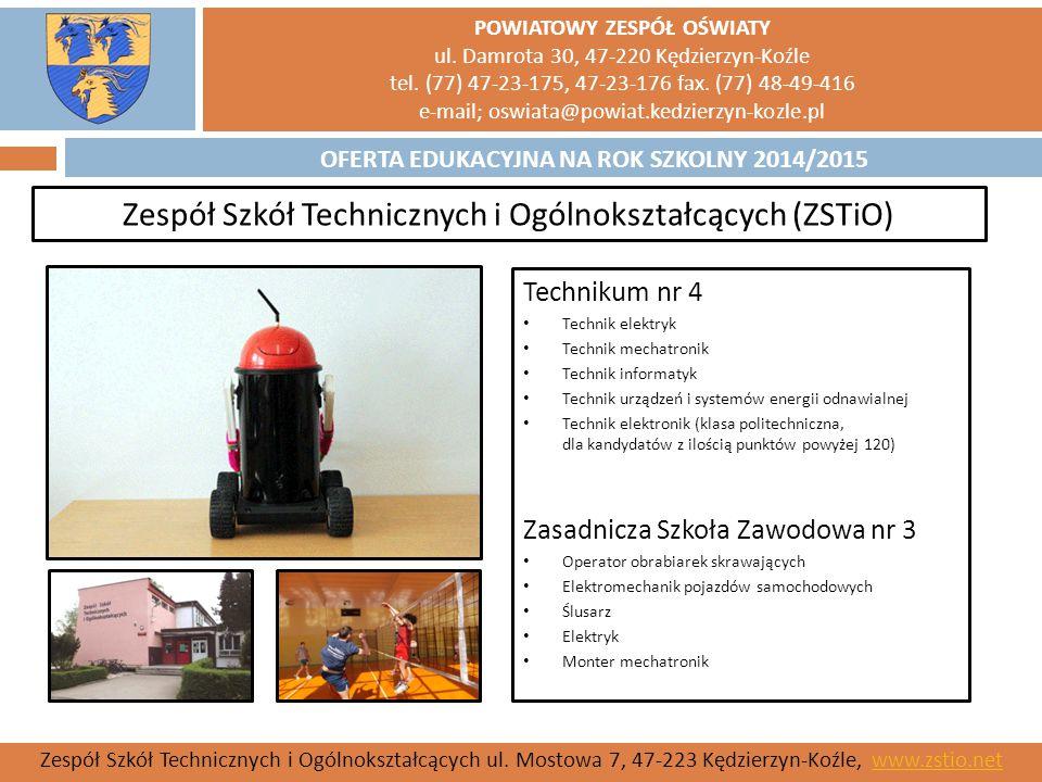 Zespół Szkół Technicznych i Ogólnokształcących (ZSTiO)