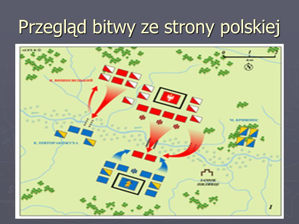 Przegląd bitwy ze strony polskiej