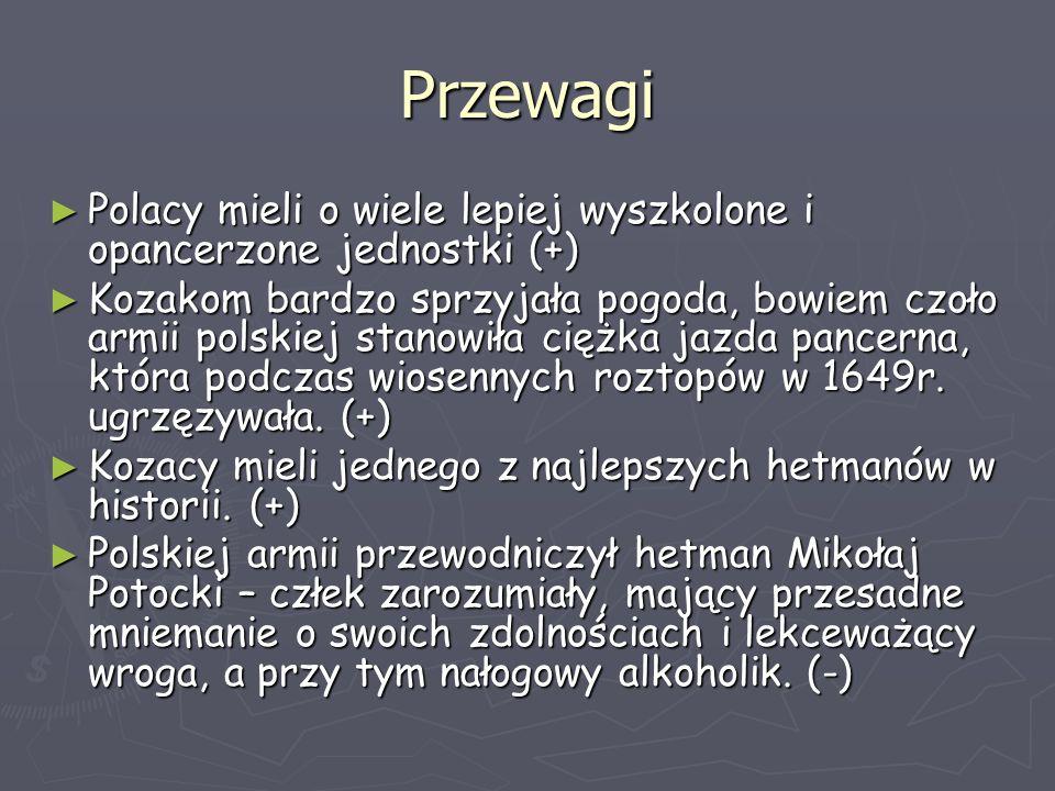 Przewagi Polacy mieli o wiele lepiej wyszkolone i opancerzone jednostki (+)