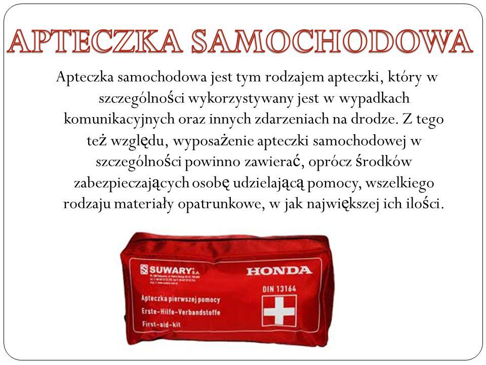 APTECZKA SAMOCHODOWA