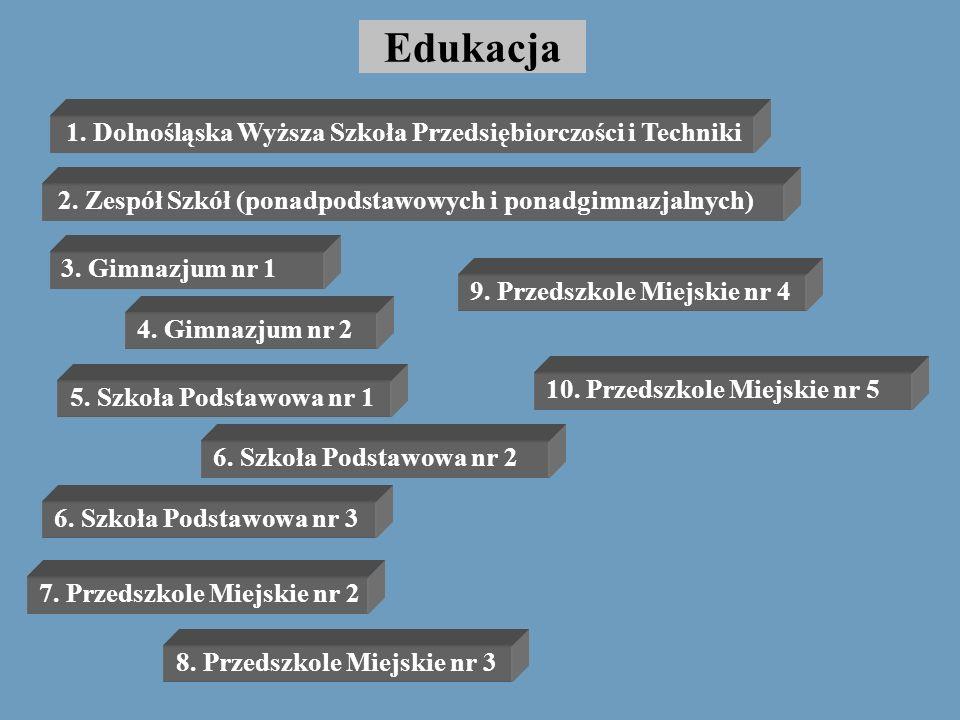 Edukacja 1. Dolnośląska Wyższa Szkoła Przedsiębiorczości i Techniki